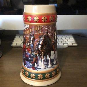 """Budweiser """"Hometown Holiday"""" Stein"""